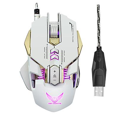 ZERODATE Bekabeld gaming Mouse DPI Verstelbare backlit Programmeerbaar 1200/1600/2000/2400/3200