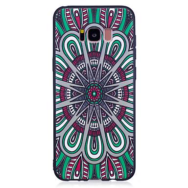 hoesje Voor Samsung Galaxy S8 Plus S8 Patroon Achterkantje Tegel Zacht TPU voor S8 S8 Plus S7 edge S7