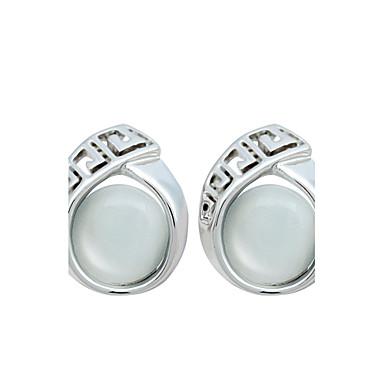Pentru femei Cercei Stud Sintetic Opal Personalizat Modă Euramerican Pietre sintetice Aliaj Bijuterii Bijuterii Pentru Nuntă Petrecere