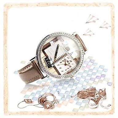 Pentru femei Ceas de Mână Ceas La Modă Quartz Piele Bandă Maro