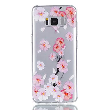 Hülle Für Samsung Galaxy S8 Plus S8 Muster Rückseite Blume Weich TPU für S8 Plus S8 S7 edge S7 S6 S5