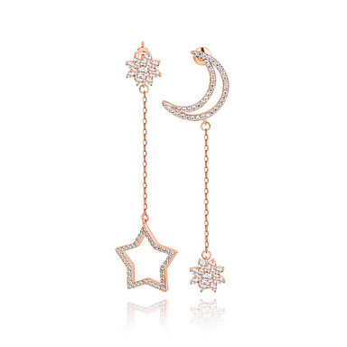 للمرأة مجوهرات تصميم فريد موضة euramerican في زركون سبيكة مجوهرات مجوهرات من أجل زفاف عيد ميلاد حفلة/سهرة تخرج مراسم