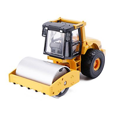 KDW Compactor المقاتل لعبة الشاحنات ومركبات البناء لعبة سيارات سيارات السحب معدن للجنسين للأطفال ألعاب هدية
