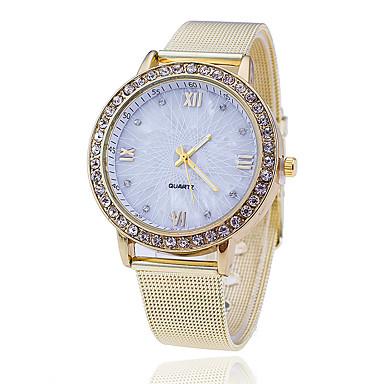 Dames Dress horloge Modieus horloge Japans Kwarts Legering Band Bedeltjes Vrijetijdsschoenen Elegante horloges Goud