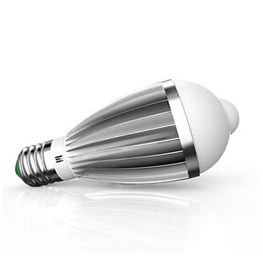 9W 880lm E26 / E27 Smart LED Glühlampen G60 18 LED-Perlen SMD 5630 Infrarot-Sensor Lichtsteuerung Menschlicher Körper Sensor Warmes Weiß