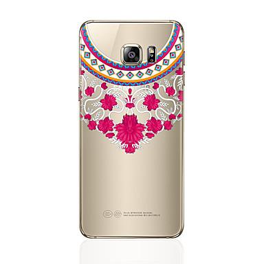 Maska Pentru Samsung Galaxy S8 Plus S8 Transparent Model Capac Spate dantelă de imprimare Moale TPU pentru S8 Plus S8 S7 edge S7 S6 edge