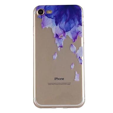 Hülle Für Apple iPhone X iPhone 8 Muster Rückseite Blume Weich TPU für iPhone X iPhone 8 Plus iPhone 8 iPhone 7 Plus iPhone 7 iPhone 6s
