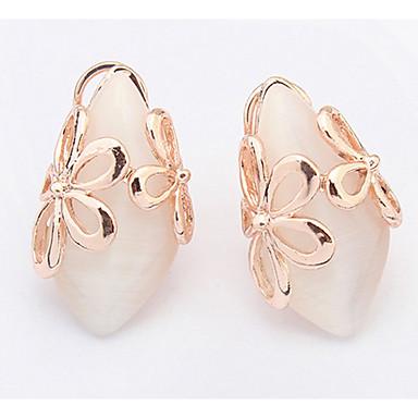 Dames Oorknopjes Druppel oorbellen Ring oorbellen Synthetische Opaal Basisontwerp Uniek ontwerp Logostijl Vriendschap Eenvoudige Stijl