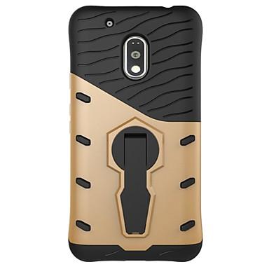 hoesje Voor Motorola Schokbestendig met standaard Achterkant Schild Hard PC voor Moto Z Force Moto Z Moto X Play Moto G5 Plus Moto G5