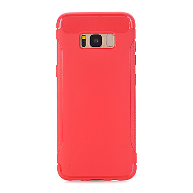 hoesje Voor Samsung Galaxy S8 Plus S8 Mat Achterkantje Effen Kleur Zacht TPU voor S8 S8 Plus