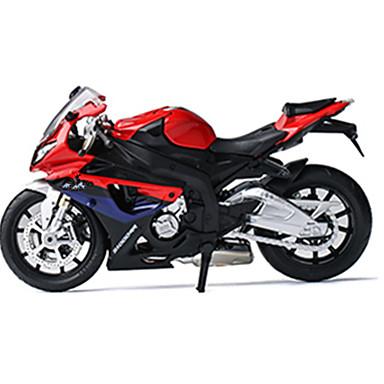Spielzeug-Motorräder Aufziehbare Fahrzeuge Bauernhoffahrzeuge Spielzeuge Auto Metalllegierung Stücke Unisex Geschenk
