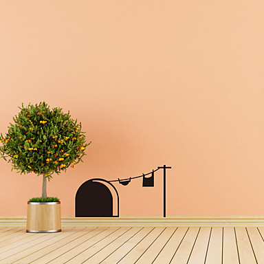 Tiere Freizeit Feiertage Wand-Sticker Flugzeug-Wand Sticker Dekorative Wand Sticker 3D, Papier Haus Dekoration Wandtattoo Wand Fenster