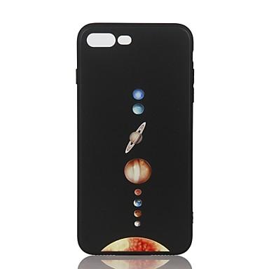 Voor Hoesje cover Patroon Reliëfopdruk Achterkantje hoesje Hemel Zacht TPU voor Apple iPhone 7 Plus iPhone 7 iPhone 6s Plus iPhone 6 Plus