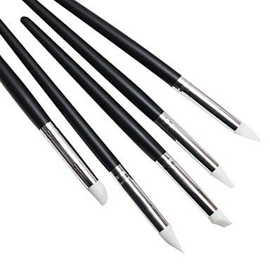 5 Pungi de unelte ștampilare Placă Șablon de ștanțare a unghiilor Unelte pentru unghii Jedna barva