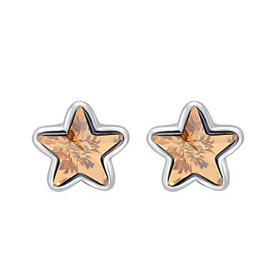 للمرأة أقراط الزر مجوهرات مخصص موضة euramerican في كريستال سبيكة مجوهرات مجوهرات من أجل زفاف حزب الذكرى السنوية