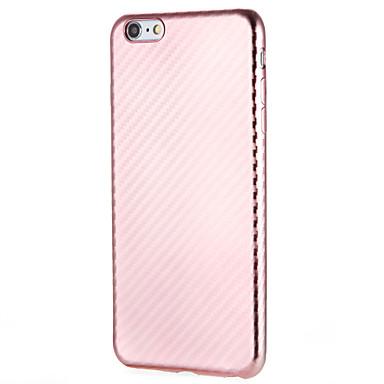 Hülle Für Apple iPhone 7 Plus iPhone 7 Staubdicht Rückseite Volltonfarbe Weich TPU für iPhone 7 Plus iPhone 7 iPhone 6s Plus iPhone 6s