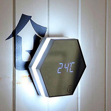 1pc LED Night Light Gemakkelijk draagbaar Noodgeval Klein formaat Nacht Zicht USB Muovi