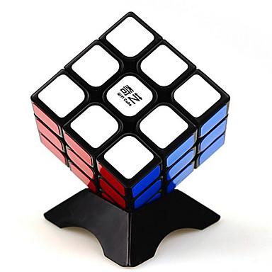مكعب روبيك QI YI 3*3*3 السلس مكعب سرعة مكعبات سحرية لغز مكعب ملصقات مصقولة مربع هدية