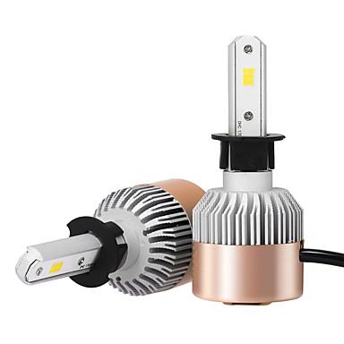 H3 Auto Leuchtbirnen 36 W Integrierte LED 3600 lm LED Scheinwerfer