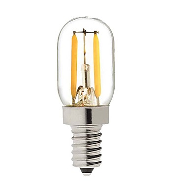 KWB 1pc 2W 200 lm E14 LED Glühlampen T 2 Leds COB Dekorativ Warmes Weiß