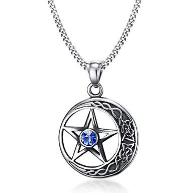 Damen Kreisförmig Anderen Kreisform Geometrische Form Stern Personalisiert Geometrisch Einzigartiges Design Logo Stil Anhänger Stil