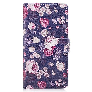 Maska Pentru Samsung Galaxy A5(2017) A3(2017) Titluar Card Portofel Cu Stand Întoarce Carcasă Telefon Floare Greu PU piele pentru A3