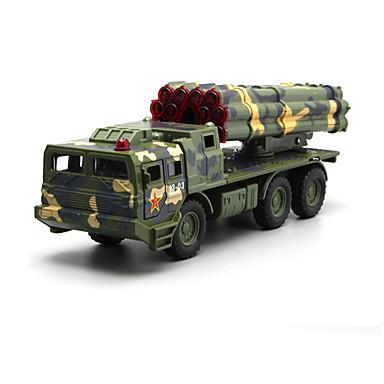 Jucării pentru mașini Jucarii Model Mașină Camion Vehicul Militar Jucarii Simulare Muzică și lumină Camion Jucarii Aliaj Metalic Bucăți