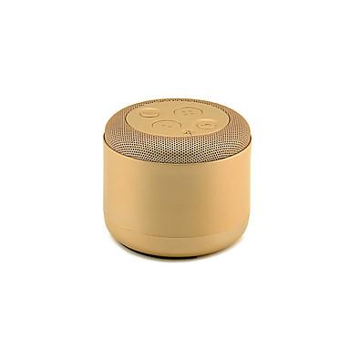 Hoge kwaliteit je-42 metalen draagbare draadloze mini-bluetooth luidspreker mp3-muziekspeler stereo-baseband met verwisselbare batterij