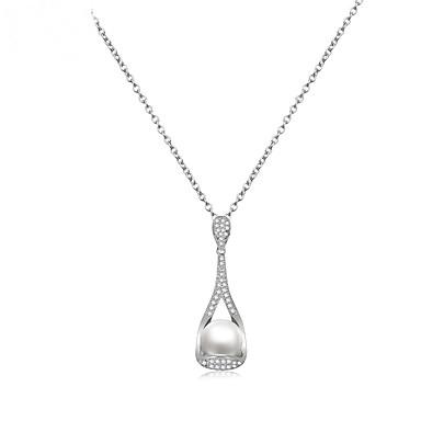 Pentru femei Altele Formă Design Unic Euramerican Modă Coliere cu Pandativ Bijuterii Perle Zirconiu Aliaj Coliere cu Pandativ Nuntă