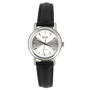 Casio Dames Sporthorloge Modieus horloge Polshorloge Japans Kwarts Waterbestendig Leer Band Bedeltjes Vrijetijdsschoenen Elegante horloges