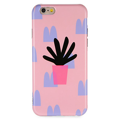 hoesje Voor Apple iPhone 7 Plus iPhone 7 IMD Patroon Achterkant Boom Zacht TPU voor iPhone 7 Plus iPhone 7 iPhone 6s Plus iPhone 6s