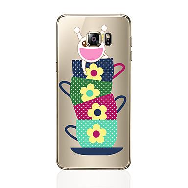 Hülle Für Samsung Galaxy S8 Plus S8 Transparent Muster Rückseite Cartoon Design Weich TPU für S8 Plus S8 S7 edge S7 S6 edge plus S6 edge