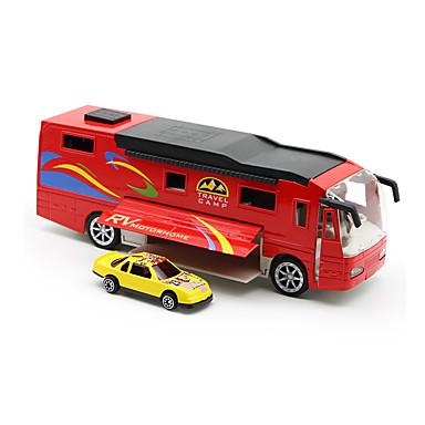لعبة سيارات ألعاب شاحنة ألعاب محاكاة الموسيقى والضوء حافلة شاحنة سبيكة معدنية قطع للجنسين هدية