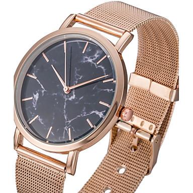 Heren Polshorloge Modieus horloge Vrijetijdshorloge Chinees Kwarts Roestvrij staal Band Informeel Cool Zwart Zilver