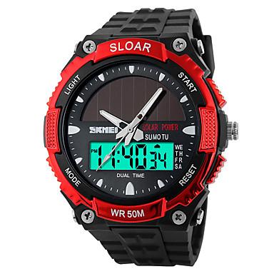 Slim horloge Waterbestendig Lange stand-by Sportief Multifunctioneel Stopwatch Wekker Chronograaf Kalender Other Geen Sim Card Slot