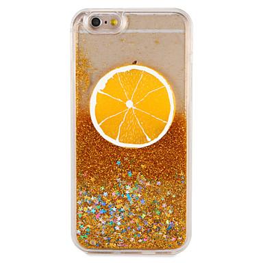 hoesje Voor Apple iPhone 7 Plus iPhone 7 Stromende vloeistof Patroon Achterkant Fruit Glitterglans Hard PC voor iPhone 7 Plus iPhone 7