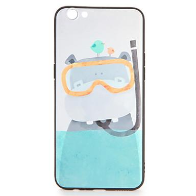 Maska Pentru OPPO OPPO R9 OPPO R9 Plus Model Capac Spate Desene Animate Moale TPU pentru OPPO R9s Plus OPPO R9s OPPO R9 Plus OPPO R9 OPPO