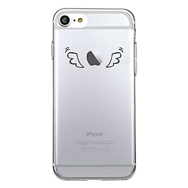 hoesje Voor Apple iPhone X iPhone 8 Patroon Achterkantje Spelen met Apple-logo Cartoon Zacht TPU voor iPhone X iPhone 8 Plus iPhone 8
