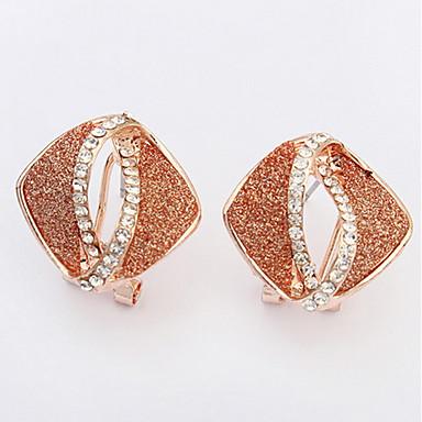 Dames Oorknopjes Druppel oorbellen Ring oorbellen Bergkristal Basisontwerp Uniek ontwerp Logostijl Bergkristallen Meetkundig Vriendschap