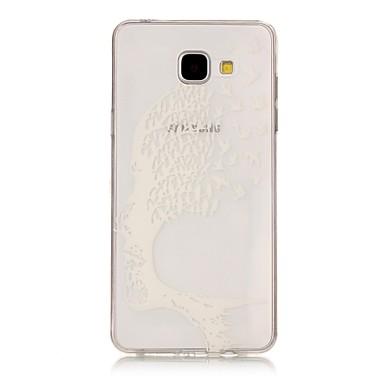 Maska Pentru Samsung Galaxy A5(2017) A3(2017) Transparent Model Carcasă Spate Cranii Moale TPU pentru A3 (2017) A5 (2017) A5(2016)