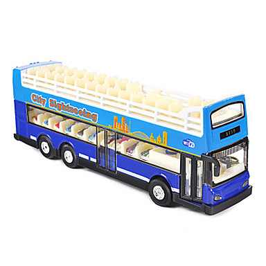 ألعاب حافلة ألعاب حافلة سبيكة معدنية قطع للجنسين هدية