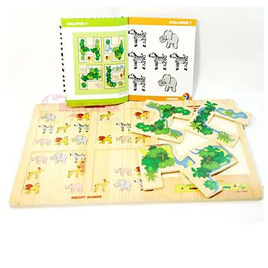 Speeltjes Speeltjes Vierkant Hout Stuks Niet gespecificeerd Geschenk