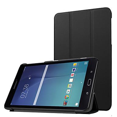 voor de Samsung Galaxy Tab 8.0 e t377v luxe ultradunne pu lederen standaard case, pu leer beschermende harde afdekking