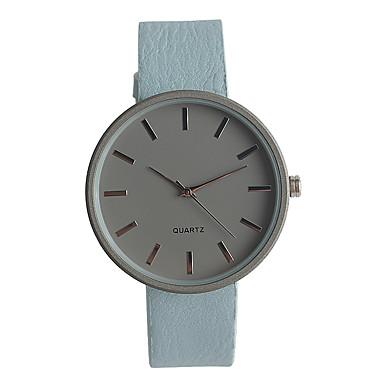 Pentru femei Quartz Ceas de Mână Japoneză / PU Bandă Casual Elegant Modă Albastru Pink