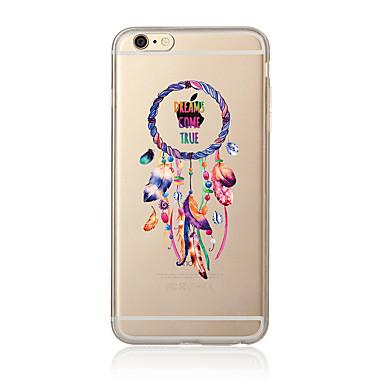 Hoesje voor iphone 7 7 plus droomvangerpatroon tpu soft back cover cartoon voor iphone 6 plus 6s plus iphone 5 se 5s 5c 4s