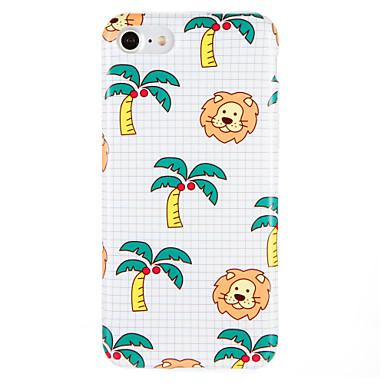 Hülle Für Apple iPhone 7 Plus iPhone 7 IMD Muster Rückseite Baum Tier Weich TPU für iPhone 7 Plus iPhone 7 iPhone 6s Plus iPhone 6s