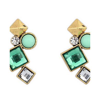 Dames Oorknopjes Druppel oorbellen Ring oorbellen Synthetische Diamant Gepersonaliseerde Religieuze sieraden Luxe Meetkundig Uniek