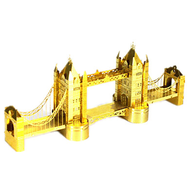 Puzzle 3D Jucarii Clădire celebru Oțel inoxidabil Unisex Bucăți