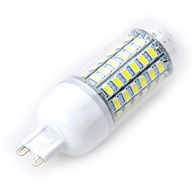 3.5 E14 LED-maïslampen 69 LEDs SMD 5730 Koel wit 200-300lm 6500K AC 220-240V