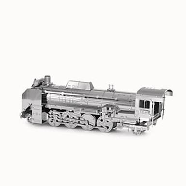 بانوراما الألغاز قطع تركيب3D اللبنات DIY اللعب Train الفولاذ المقاوم للصدأ ألعاب البناء و التركيب